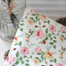 İngiliz Çiçekli Kumaş